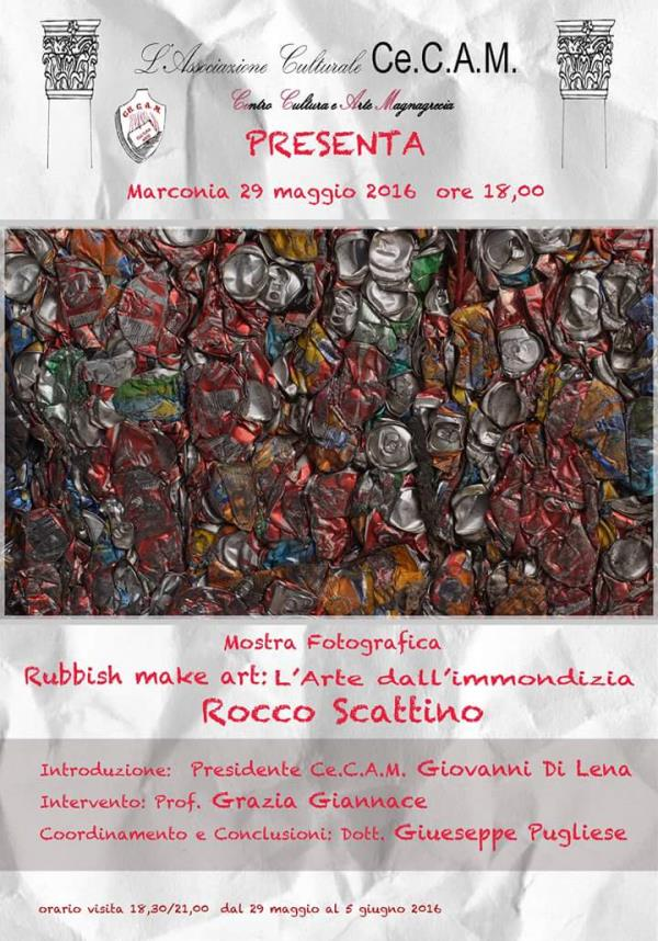 Rubbish make art : L´arte dall´immondizia