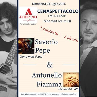 Saverio Pepe E Antonello Fiamma In Concerto