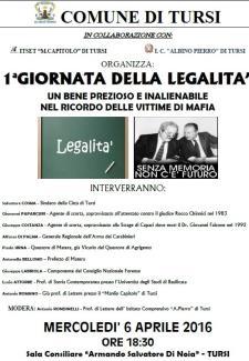 1^ GIORNATA DELLA LEGALITA' - Matera