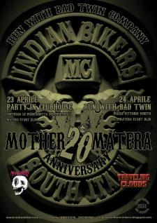 20° Anniversary Party - Run with Bad Twin Company - Matera