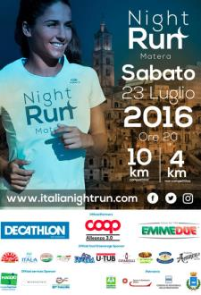 """3 EDIZIONE della """"Night Run Italia"""" - Matera"""