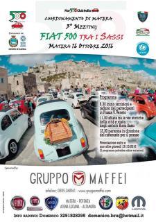 3° Meeting Fiat 500 tra Sassi - Matera