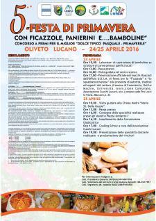 5° Festa di Primavera con Ficazzole, Panierini e ….Bamboline - Matera