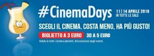 #CinemaDays 2016 - Matera
