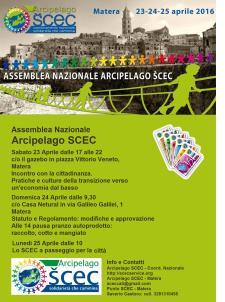 Assemblea Nazionale Arcipelago SCEC  - Matera