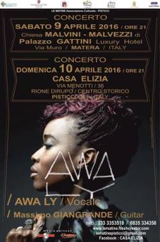 AWA LY in Concerto - Matera