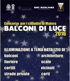 Balconi di luce 2016  - Matera
