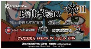 Basilicata Metal Fest 2016 - 16 Luglio 2016 - Matera