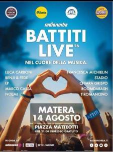 BATTITI LIVE 2016 - 14 Agosto 2016 - Matera