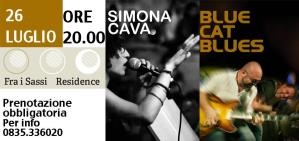 Blue Cat Blues + Simona Cava - Matera