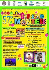 Carnevale di Montescaglioso 2016 - Matera