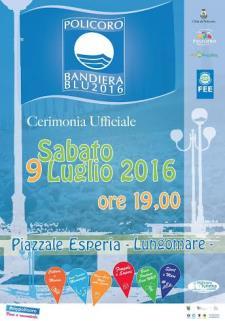 Celebrazione della Bandiera Blu 2016 - Matera