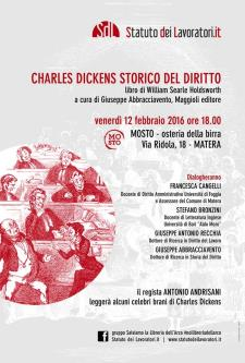 Charles Dickens storico del diritto - 12 Febbraio 2016 - Matera