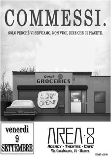 COMMESSI dal Vivo - 9 settembre 2016 - Matera