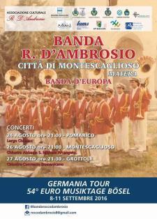 Concerti Banda Rocco D'Ambrosio - Matera