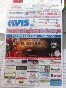 "Concerto Del Gruppo ""el Menjunje"" Santana Tribute Band - Matera"