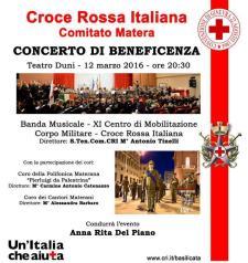 Concerto di beneficenza - 12 Marzo 2016 - Matera