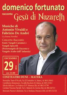 Concerto Racconto – Gesú di Nazareth - 29 dicembre 2016 - Matera