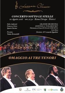 Concerto sotto le stelle - 10agosto 2016 - Matera