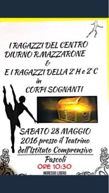 Corpi Sognanti  - 28 maggio 2016 - Matera
