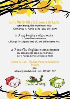 Corso Monotematico FENG SHUI - Matera