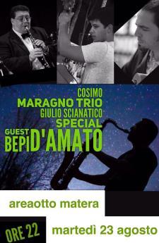 Cosimo Maragno Trio all' Area8 - 23 agosto 2016 - Matera