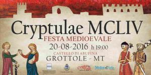CRYPTULAE MCLIV - Matera