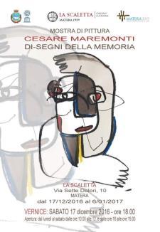 Di-Segni della Memoria - dal 17 dicembre 2016 al 6 gennaio 2017 - Matera