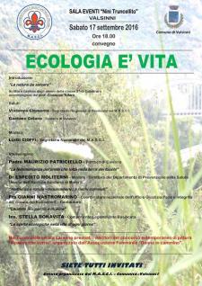Ecologia è Vita - 17 settembre 2016 - Matera