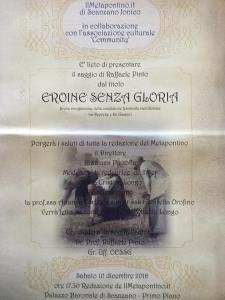 Eroine senza gloria - Matera