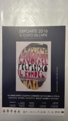 EXPOARTE 2016 - IL GUSTO DELL'ARTE - Matera