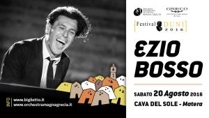 Ezio Bosso in concerto - 20 Agosto 2016 - Matera