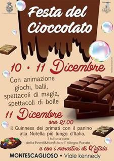 Festa del Cioccolato 2016 a Montescaglioso - Matera