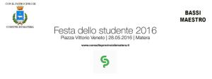 Festa dello studente 2016 - Matera