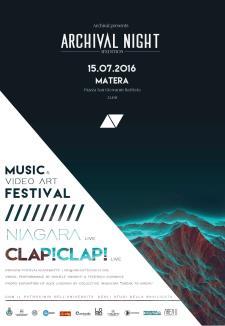 Festival dell�Architettura ARCHIVAL - 15 Luglio 2016 - Matera
