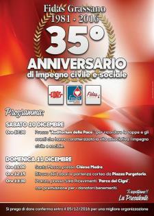 FIDAS: 35 anni di impegno civile e sociale - Matera