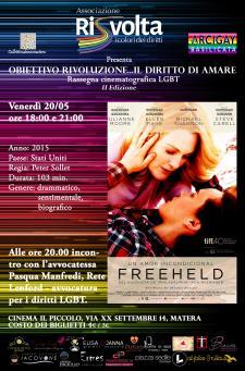 Freeheld - 20 Maggio 2016 - Matera