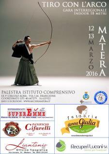 GARA INTERREGIONALE INDOOR 18M - Matera