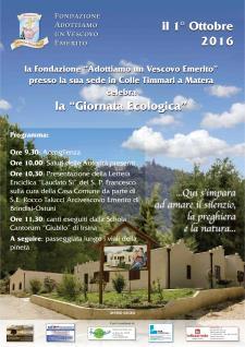 Giornata Ecologica - 1 ottobre 2016 - Matera
