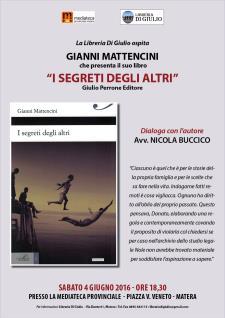 I segreti degli altri - 4 Giugno 2016 - Matera
