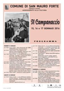 Il Campanaccio 2016 - Matera