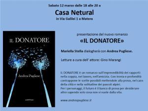 Il donatore - Matera
