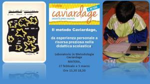 Il metodo Caviardage  - Matera