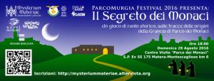 Il Segreto dei Monaci - 28 agosto 2016 - Matera