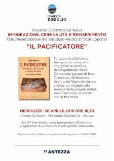 Il Pacificatore - 20 Aprile 2016 - Matera