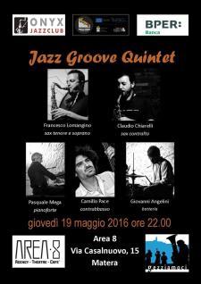 Jazz Groove Quintet live - Matera