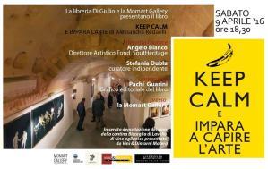 KEEP CALM E IMPARA L'ARTE  - Matera