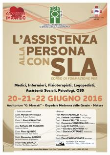 L'Assistenza alla persona con SLA - Matera