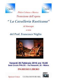 La Cavalleria Rusticana - 25 Febbraio 2016 - Matera