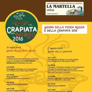 La Crapiata del Borgo 2016 - Matera